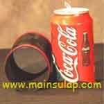 Vanishing Cola Can