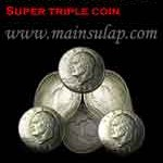 Sulap Super Triple Coin by Johnny Wong
