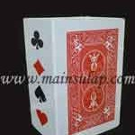 Sulap Portable Box Card Magic Trick