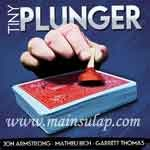 Sulap Tiny Plunger by Jon Armstrong Magic Trick