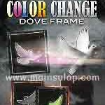 Sulap Color Change Dove Frame by JaeHoon Lim Magic Trick