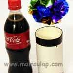Sulap Vanishing Coca Cola Bottle to Flower Ball Magic Trick