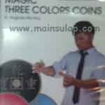 Sulap Magic Three Colors Coins by Magician Wu You Magic Trick