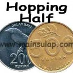 Sulap Indonesian Hopping Half Rupiah Magic Trick