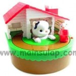 Cat and Mouse Coin Saving Bank