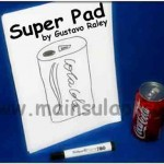 Sulap Super Pad by Gustavo Raley Magic Trick