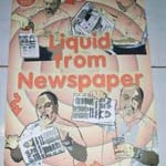 Water to Newspaper
